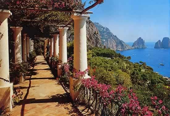 Capri-terrace